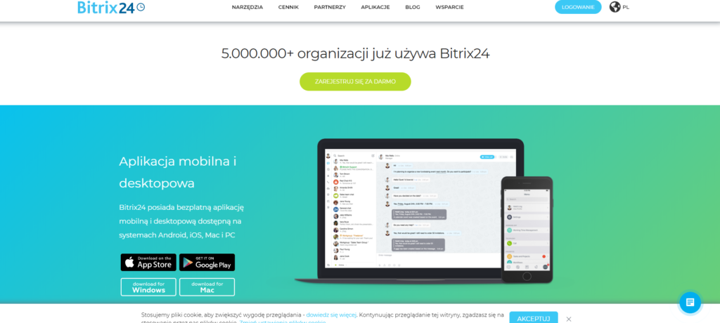 bitrix - aplikacje do zarządzania projektami narudo.pl - Twój Zdalny Project Manager Magdalena Nicgorska