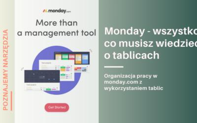 Zarządzanie projektami w monday.com – wszystko, co powinieneś wiedzieć o tablicach
