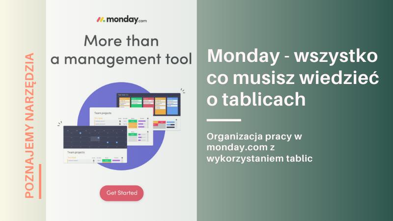 monday.com - zarządzanie projektami, tablice w Monday.com
