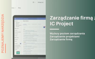 Zarządzanie firmą z IC Project