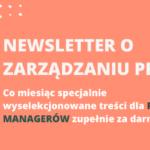Newsletter o zarządzaniu projektami