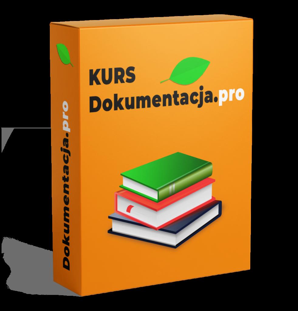 Kurs dokumentacja.pro